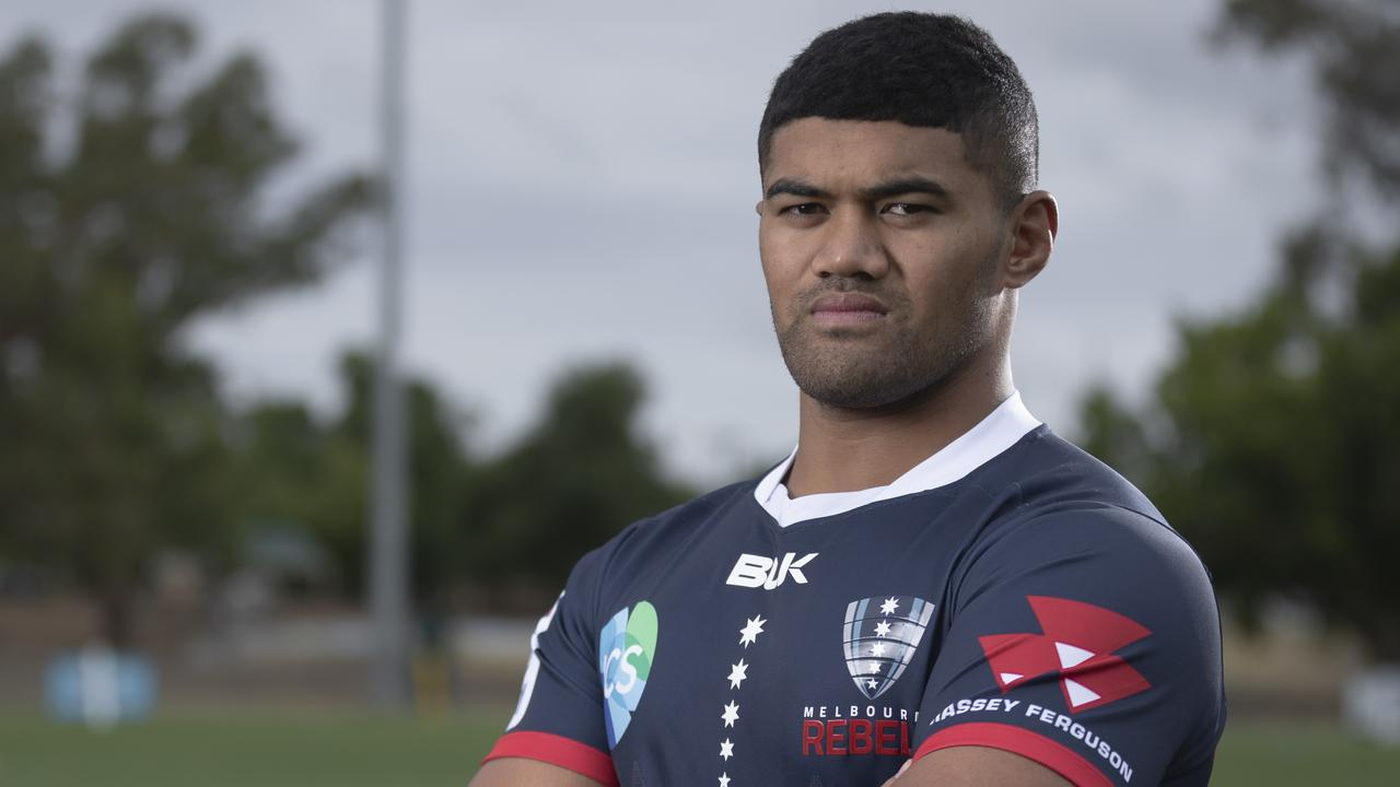 Rebels hooker Jordan Uelese shelled out $10,000 on recovery equipment to help keep him on the field. Picture: Getty Images