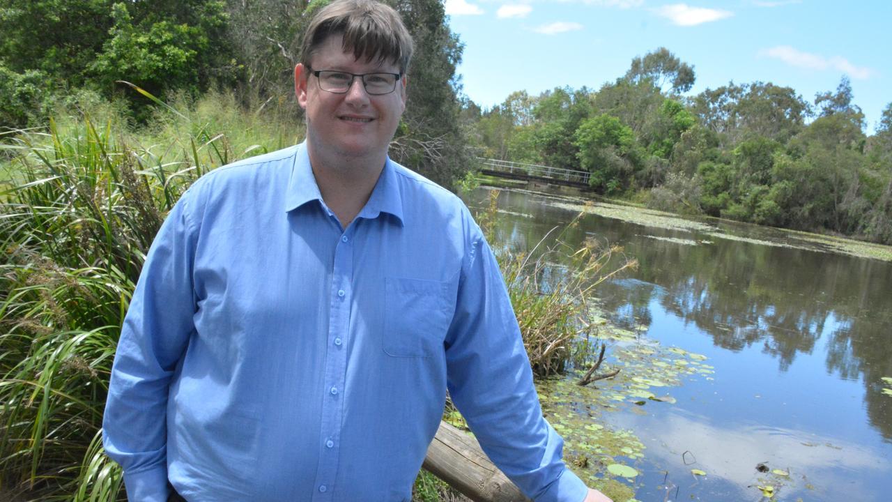Bundaberg Regional Council Division 9 candidate Chris Foley at Baldwin Swamp.