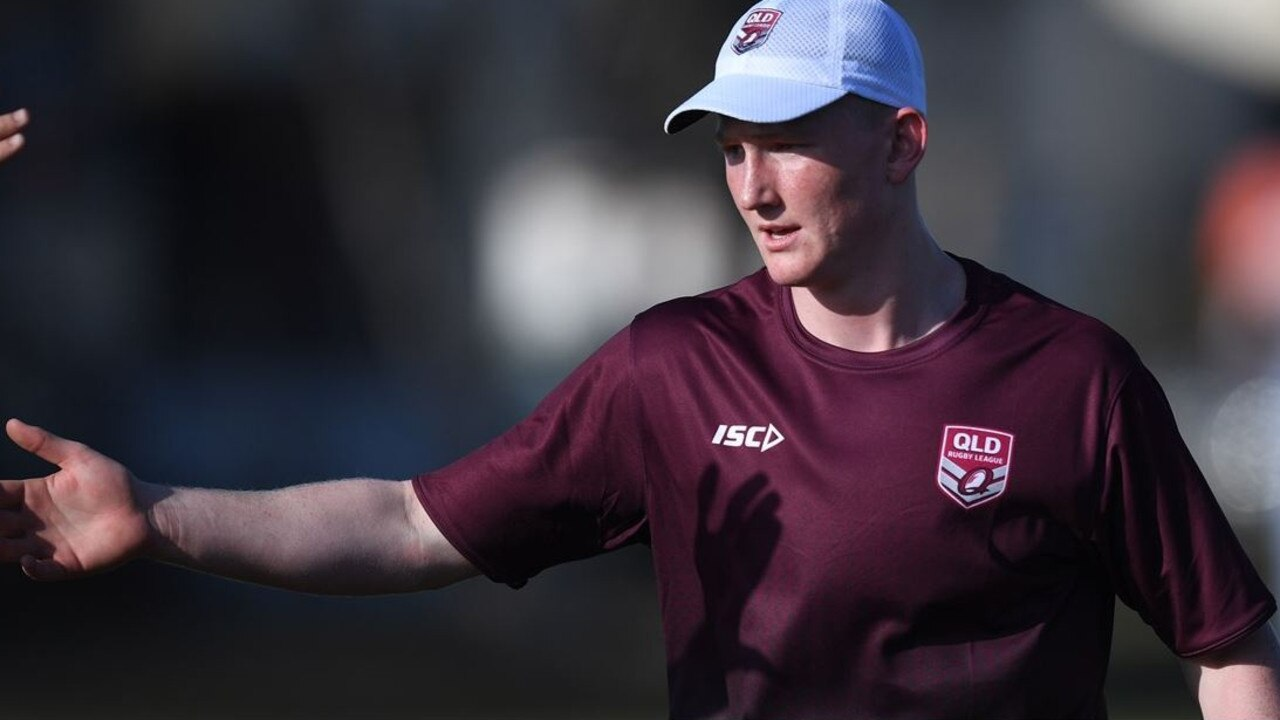 QUEENSLANDER: Josh Radel is ready to play for his chance to put on a maroon jersey.