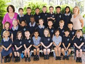 Middle Ridge State School Prep class B. Back Row ( L