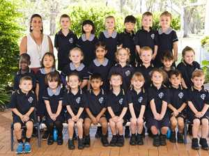 Middle Ridge State School Prep class J. Back Row ( L