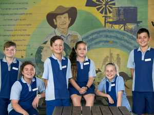 Withcott State School leaders 2020 - from left;