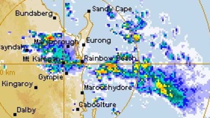 Severe storm warning issued for parts of Gympie region