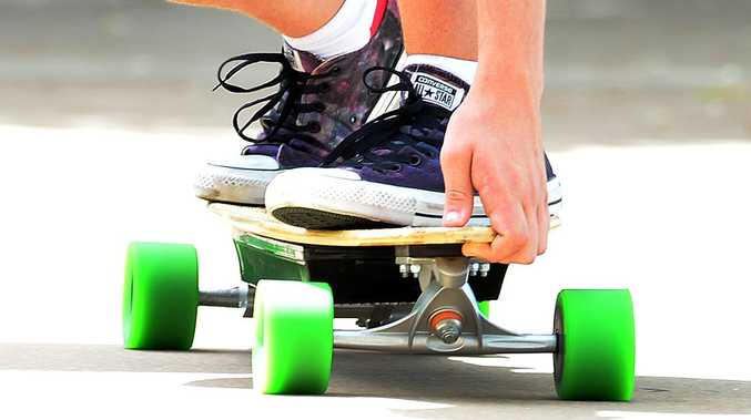 Teen hospitalised as night-time skate ends in injury