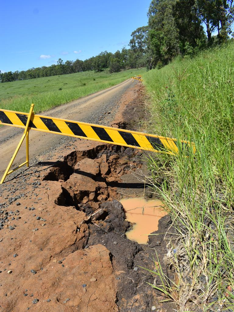 State of Old Dyraaba Rd, near Casino.