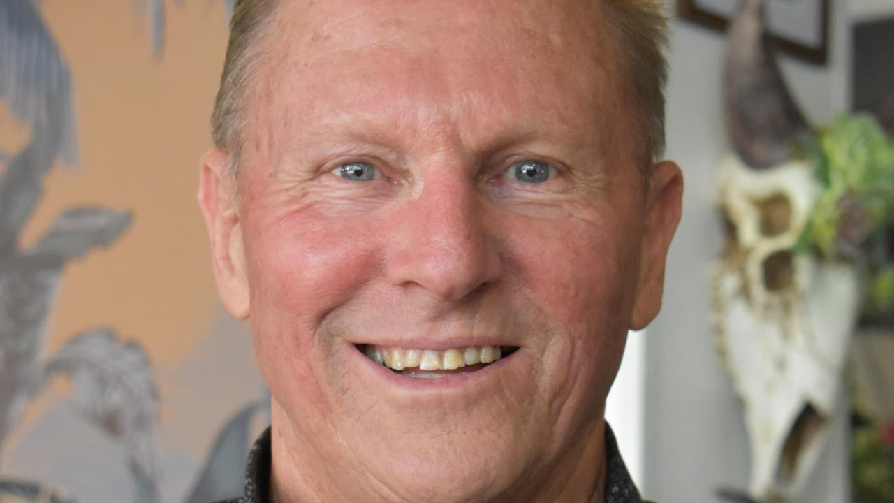 Gympie Chamber of Commerce president Tony Goodman.