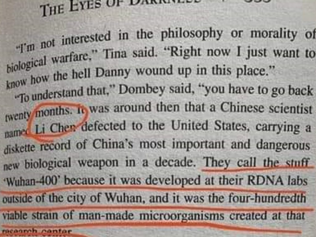 In the original version, the virus was named 'Gorki-400'.