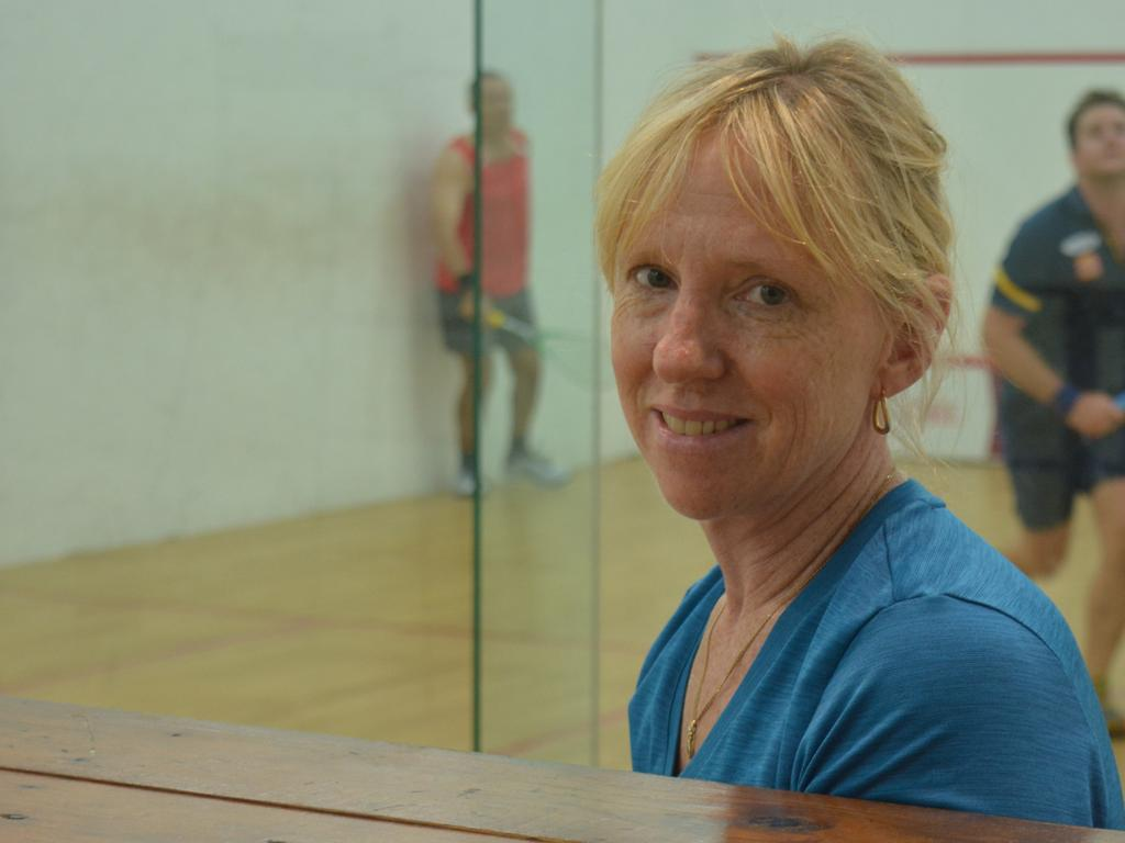 BIG WEEKEND: Sue Davis is looking forward to the quality games to be played this weekend. PICTURE: Nick Kossatch
