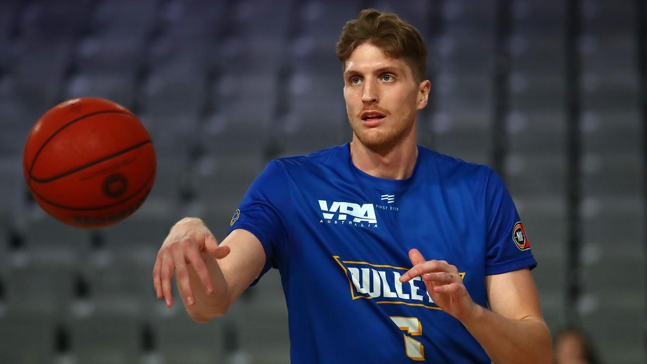 Matt Hodgson has played the past two seasons with the Brisbane Bullets. Picture: Jono Searle/Getty Images)