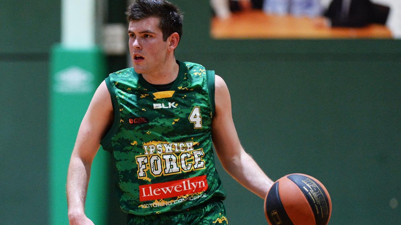 Ipswich Force basketballer Jason Ralph. Picture: Rob Williams