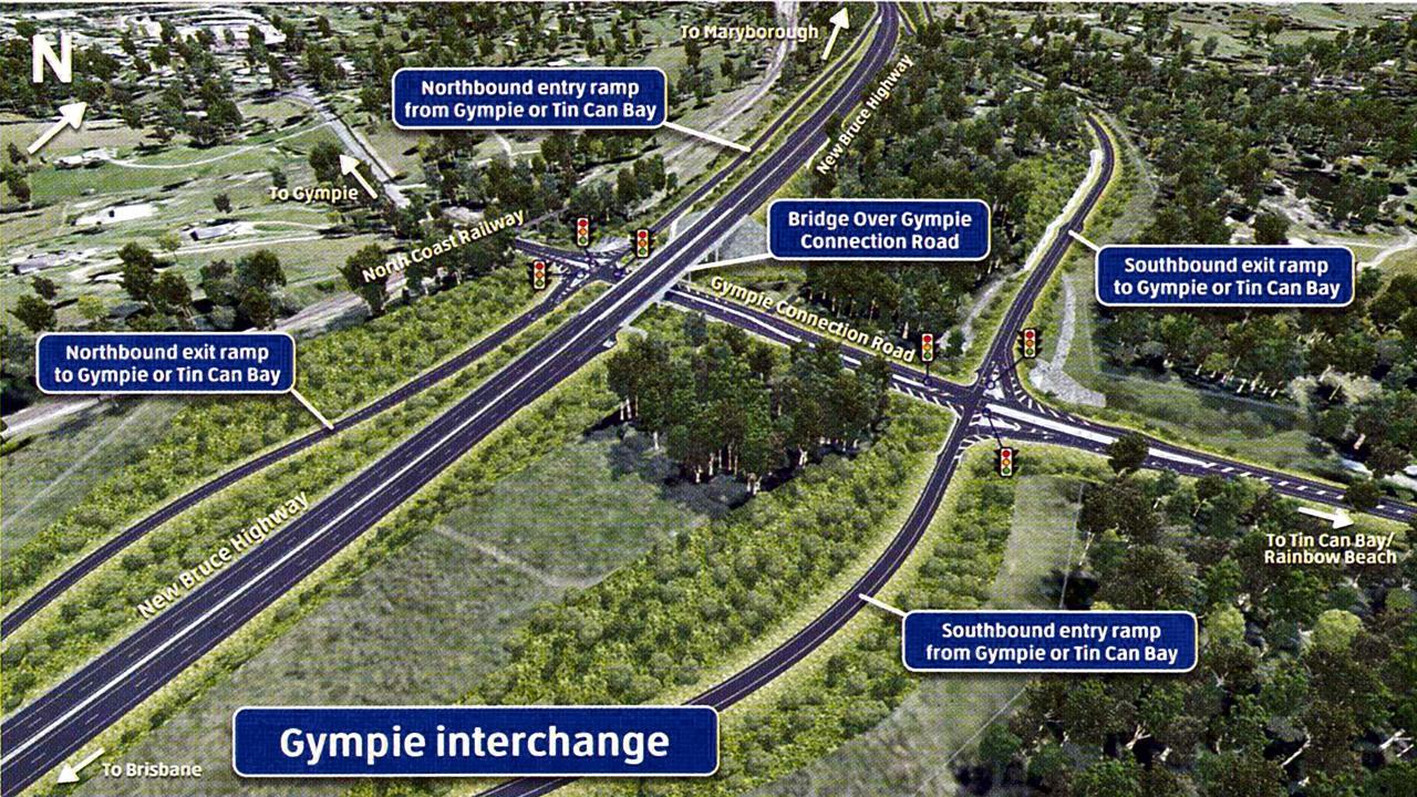 Bruce Highway Upgrade Cooroy to Curra - Gympie interchange