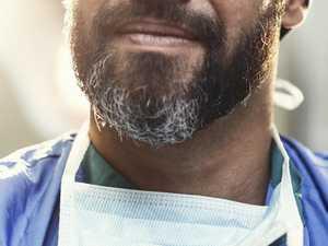Men with beards issued virus warning