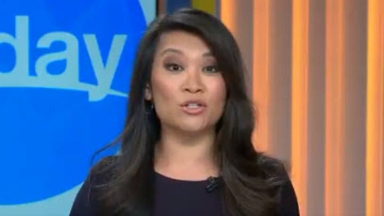 Today newsreader Tracy Vo announces the story.