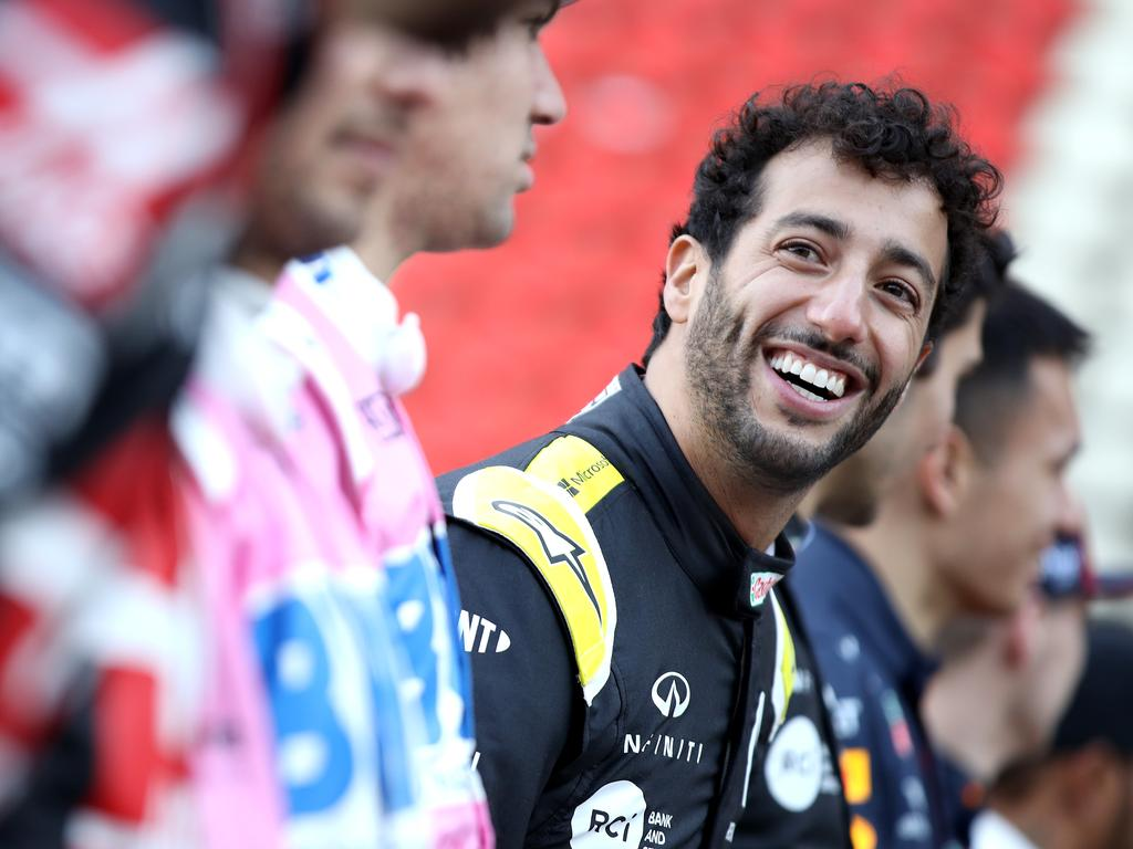 Is Ricciardo looking to move up in the world?