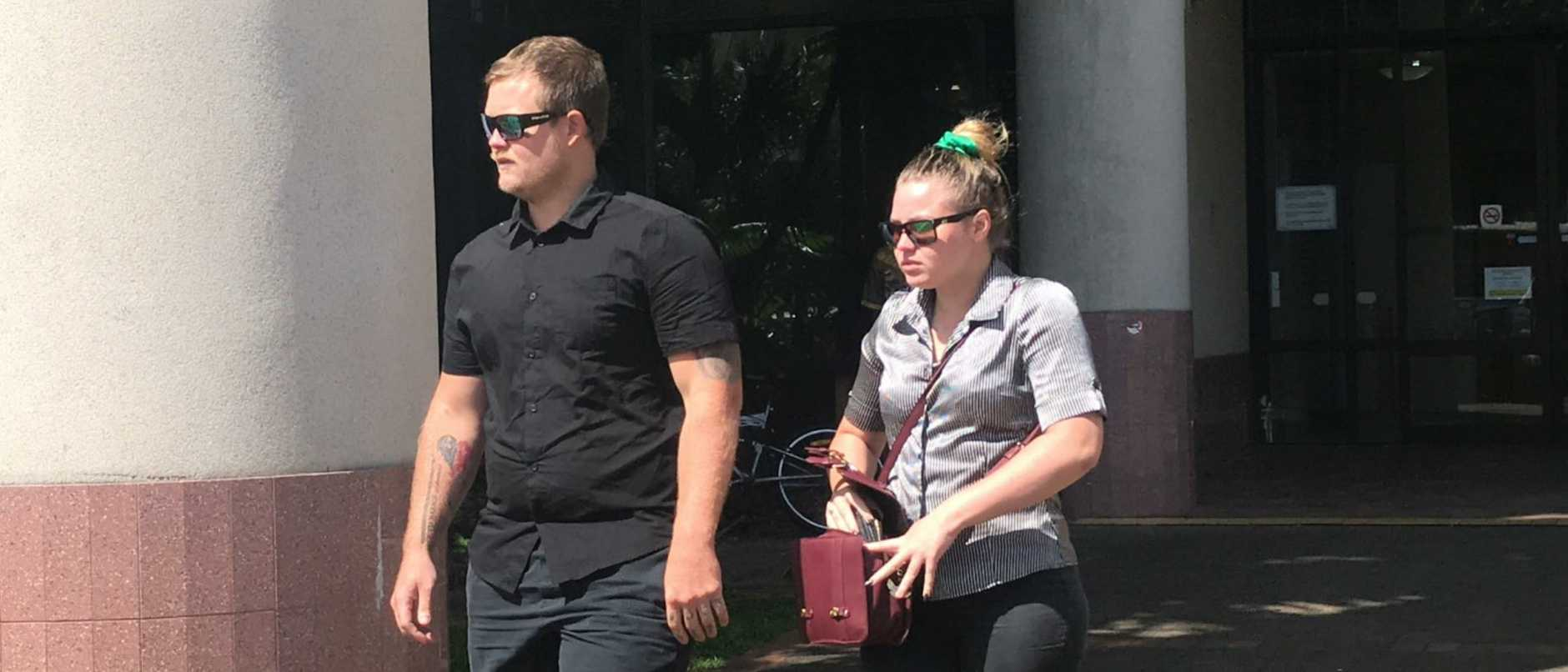 Police have alleged they seized various items including a mobile phone, computers and electronic devices from Kewarra Beach man Kodie James Love, 23, as part of their investigation into the cat's death and alleged stalking of a Trinity Beach man.
