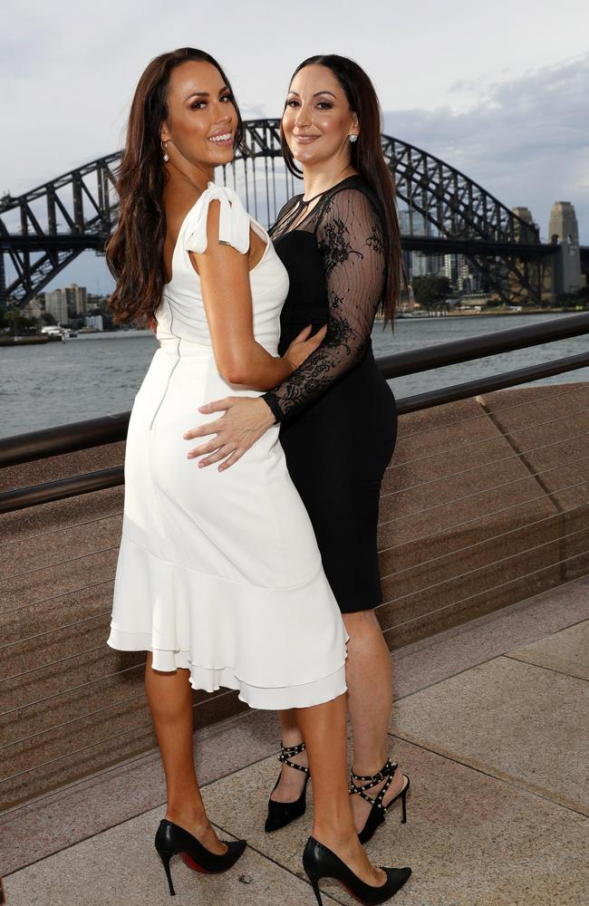 MAFS brides Poppy Jennings and Tash Spencer. Picture: Matrix