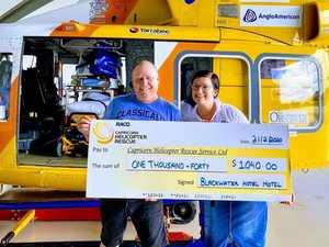 CQ pub donates to life saving organisation