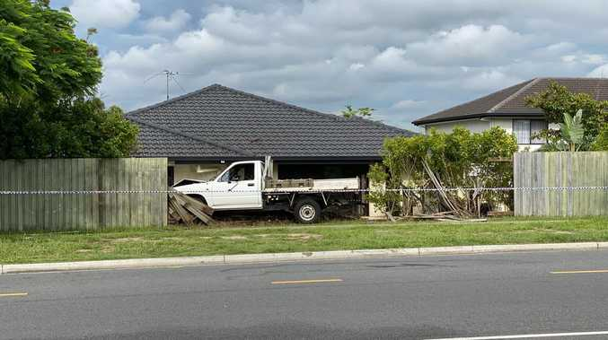 Chaos as teen hit, fence smashed by sleeping P-Plater