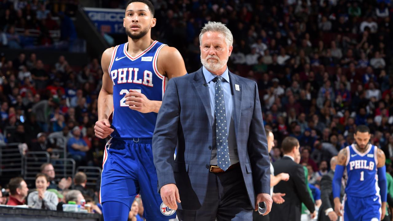 Ben Simmons is battling injury. Brett Brown is under pressure.
