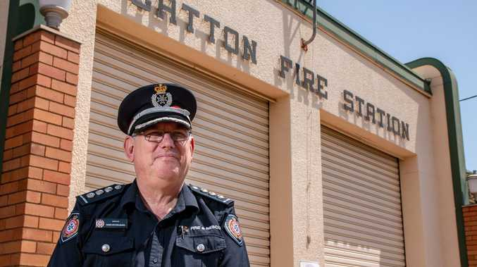 Fond farewell to a homegrown firefighting legend