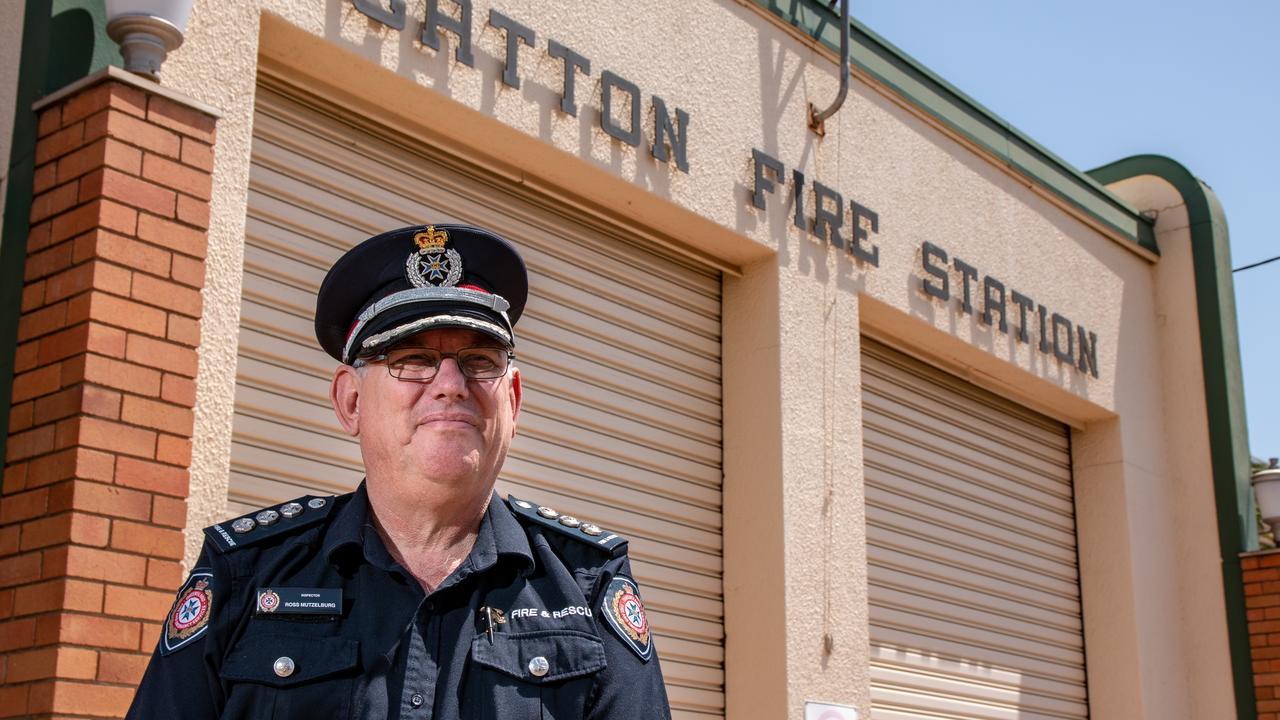 SO LONG: QFES Lockyer Valley Area Commander Ross Mutzelburg is bidding farewell to the region, after four years in the top job. Picture: Dominic Elsome