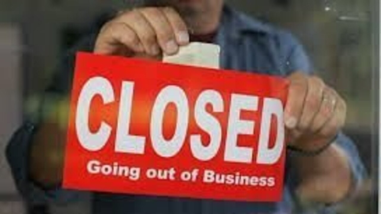 CLOSED: Another business shutting its doors.