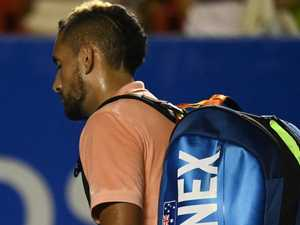 Kyrgios battles injury ahead of Cup tie in Adelaide