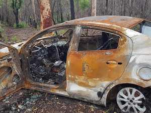 Devastating find in hunt for alleged stolen vehicle