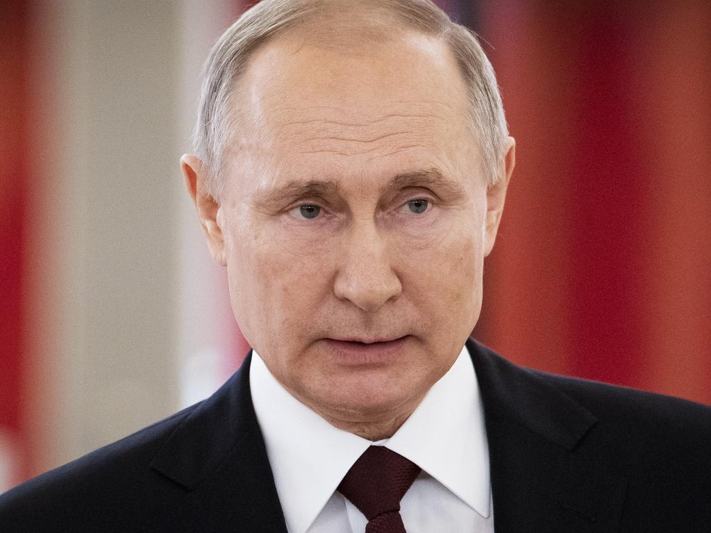 Russian President Vladimir Putin said he refused to use body doubles. Picture: AP Photo/Alexander Zemlianichenko, Pool, File.