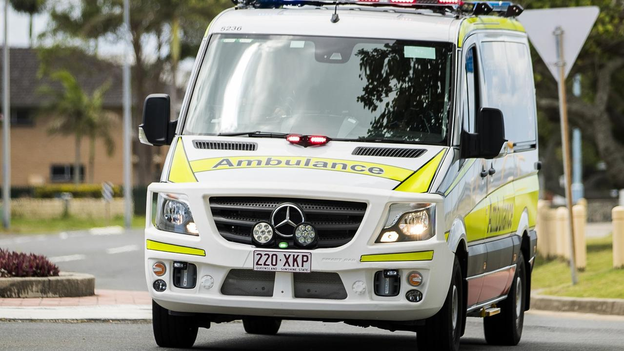 Paramedics were called to the Dysart Middlemount Rd after a car rolled.
