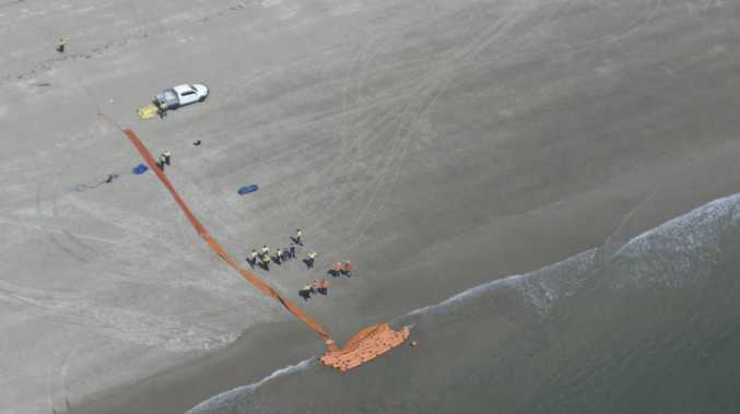 What would happen during oil spill at Mackay Port