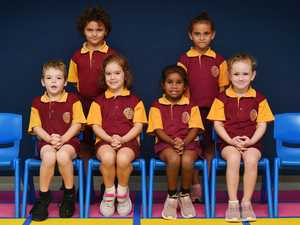 Sarina State School Year P/1 Back (from left):