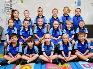 St John's Catholic Primary School Prep A Back (from
