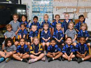 Victoria Park State School Prep D Back (from left):
