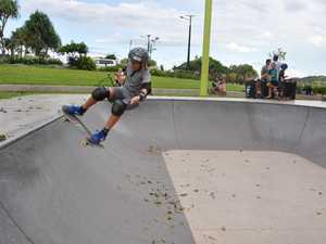 Mack Smith is keen to take his skateboarding career