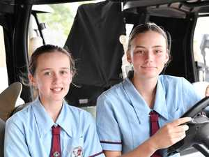 Sophie Thomsen and Megan Smith are two young girls