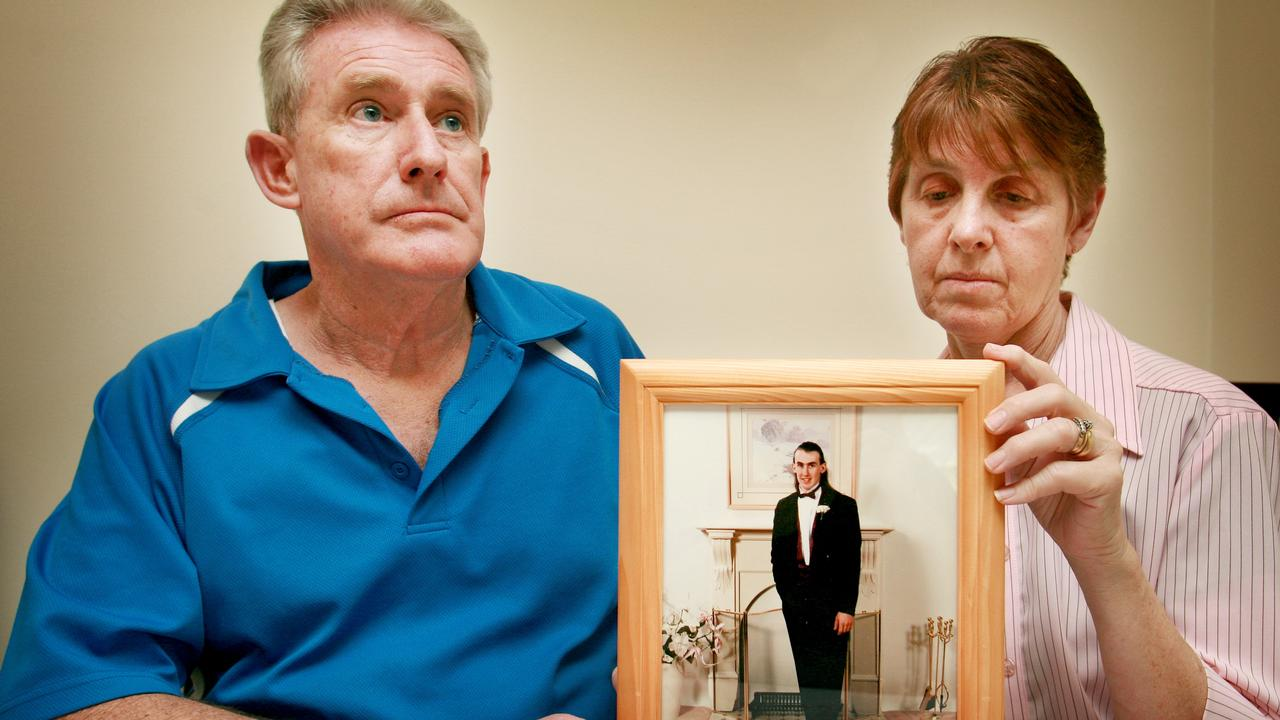 Bruce and Jean Kimball, the parents of Ross Kimball who was killed by Warren Alan Forbes, say the killer has never shown remorse. Picture: Matthew Bouwmeester