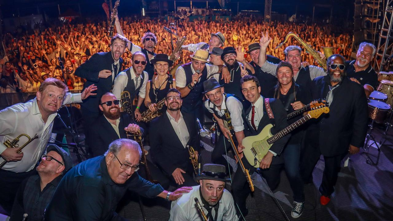 The Melbourne Ska Orchestra will be playing at Solbar.