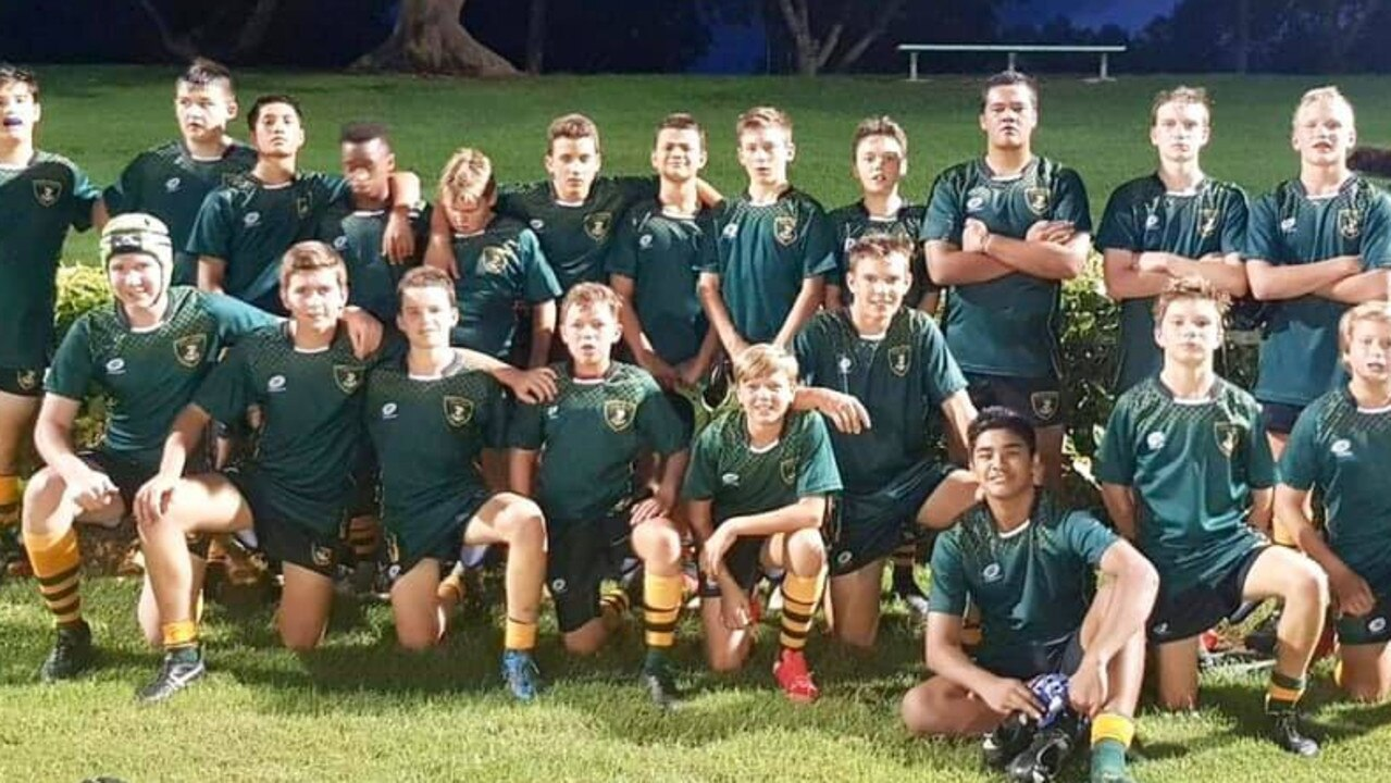 HISTORY MADE: The under-15 Chanel College team