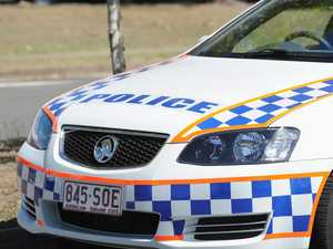 Police pursue stolen car through Mackay CBD