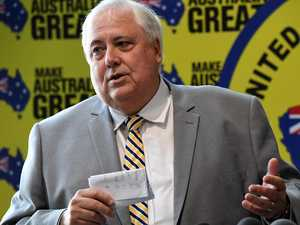 Clive Palmer facing possible jail over fraud allegation