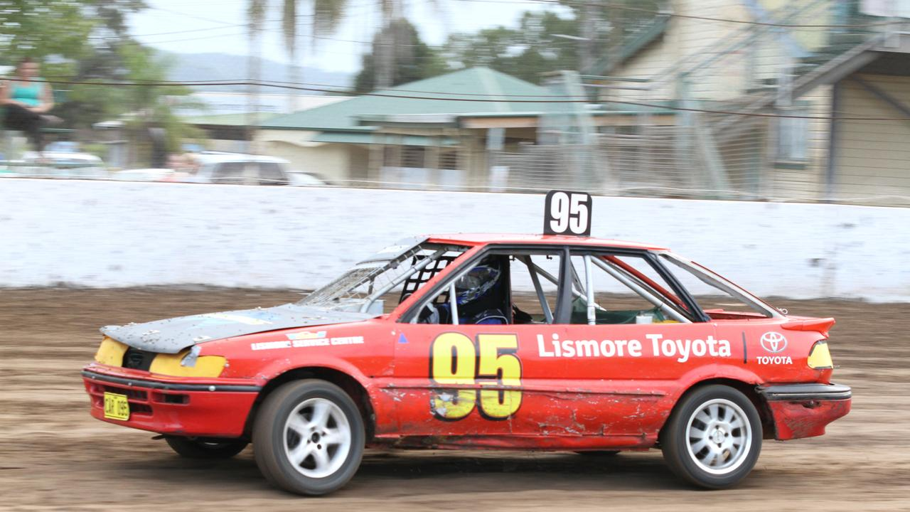 SPEED BATTLE: Brock Youngberry will continue an exciting points title battle with Ryley Smith in tonight's Junior Sedan events at Castrol Edge Lismore Speedway. Photo: Tony Powell.