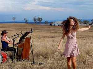 Grace + Hugh bring piano, good vibes to country village
