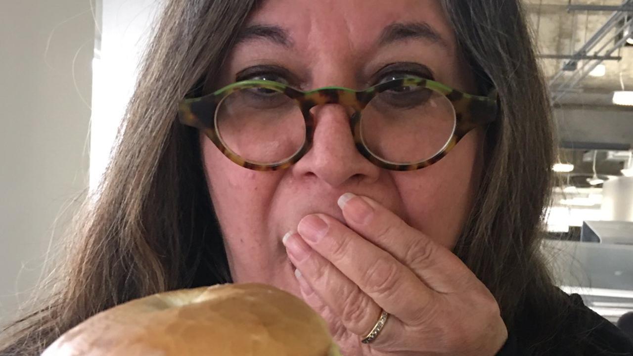 McDonald's customer brands his brekkie bagel a 'monstrosity' Twitter / Bryan Passifiume
