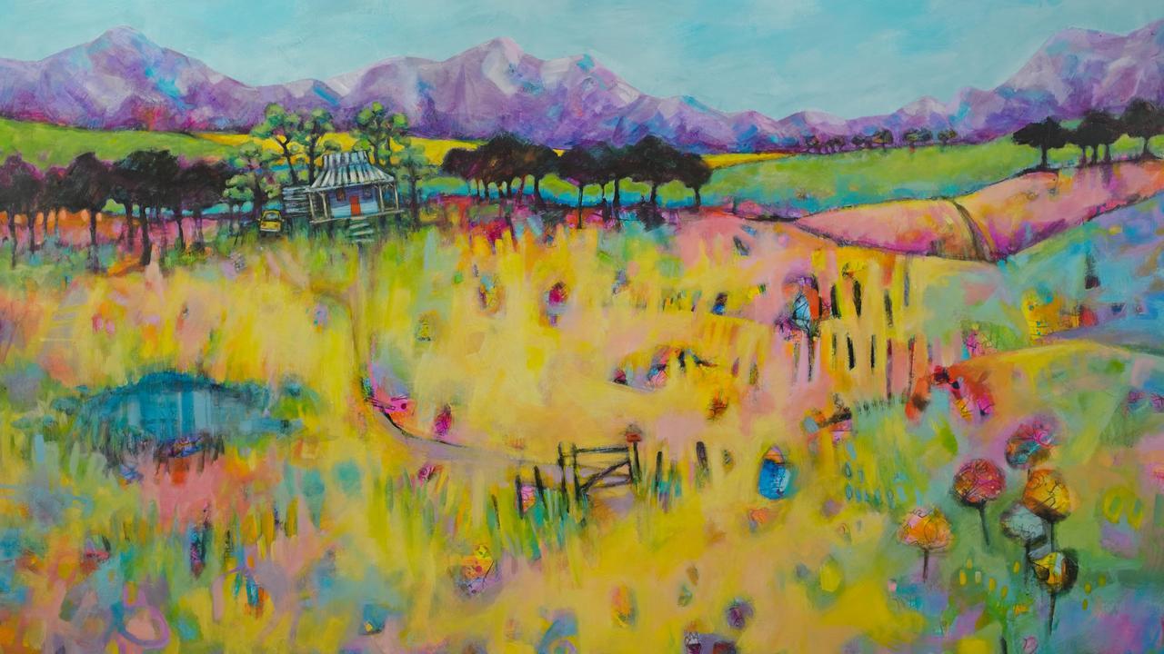 Teresa Mundt's artwork, titled After The Rain.