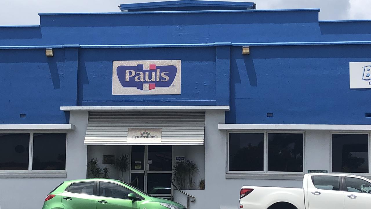 The Pauls factory in Rockhampton's CBD.