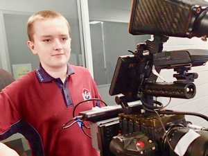 High school's brush with Hollywood talent