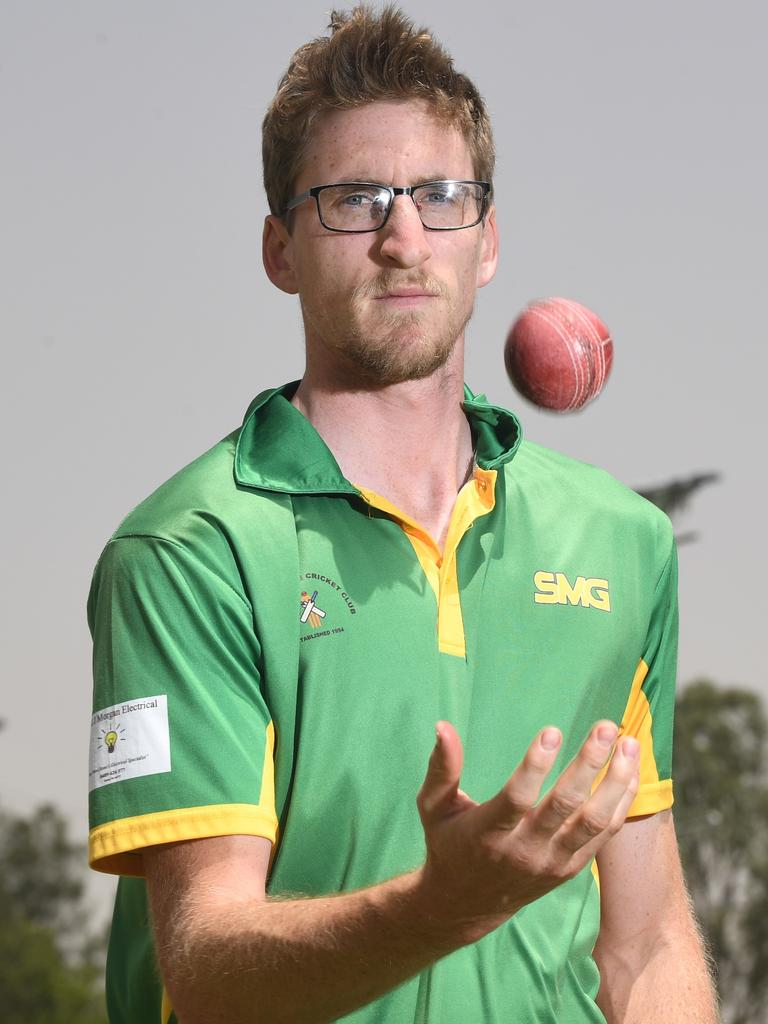 Wests all-rounder Anthony Brogden.