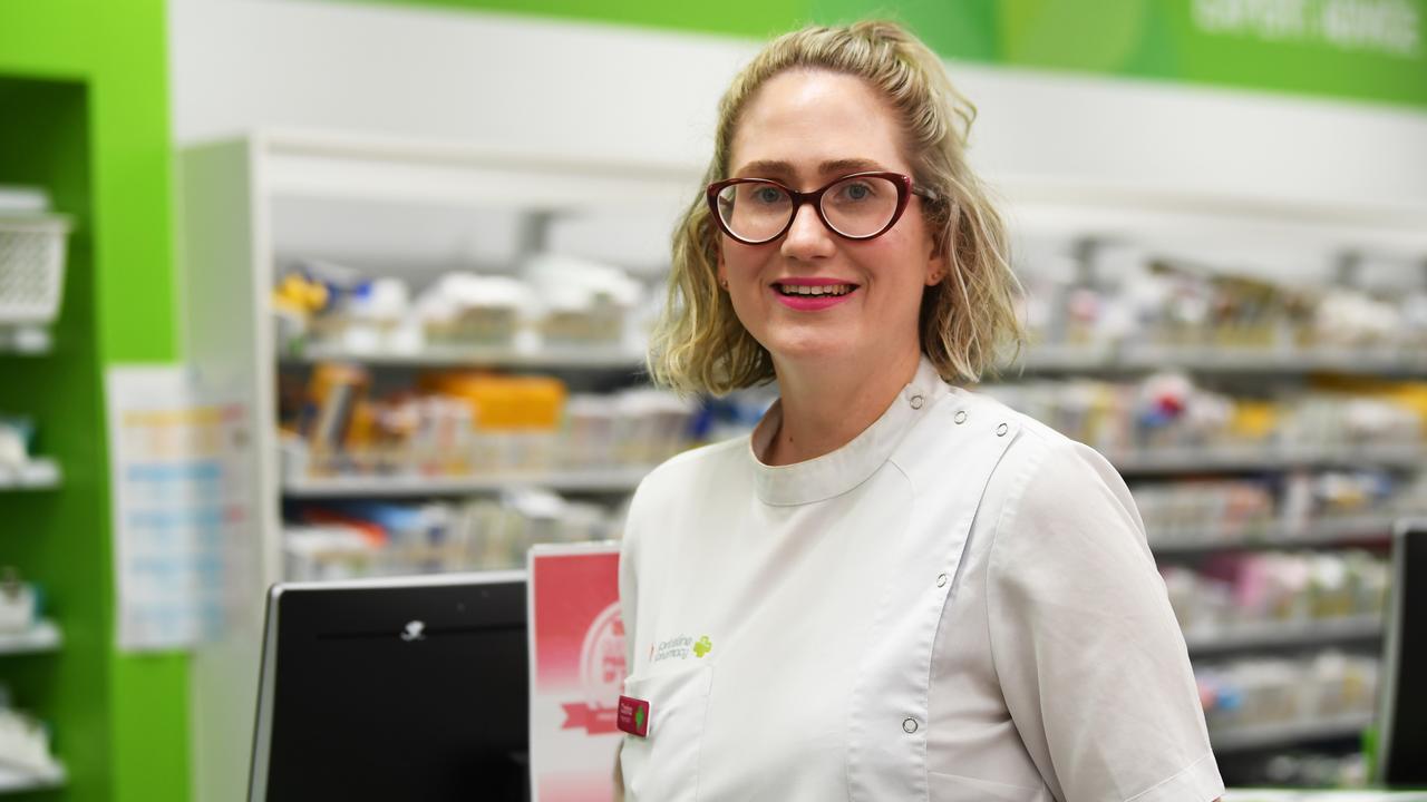 TOP PHARMACIST: Priceline Pharmacy Parkhurst's Carina Finn was awarded state Priceline pharmacist of the year. Picture: Allan Reinikka