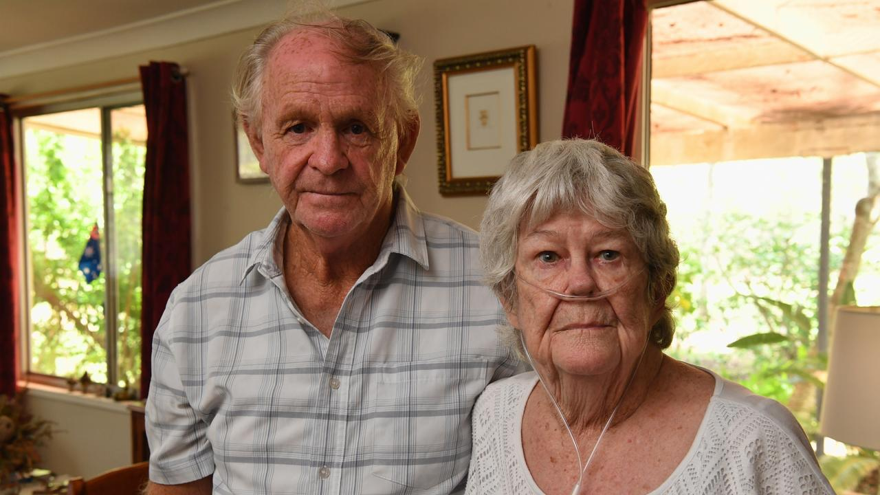 The great-grandmother broke two bones in her neck and three ribs in a car crash nearly two years ago